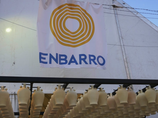 Entrada Recinto Ferial ENBARRO LA RAMBLA feria cerámica