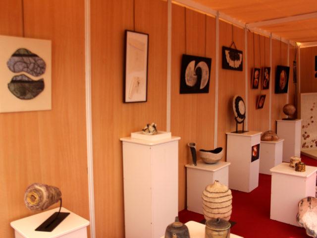 Exposición colectiva de cerámica contemporánea en La Rambla Córdoba por CoCeR