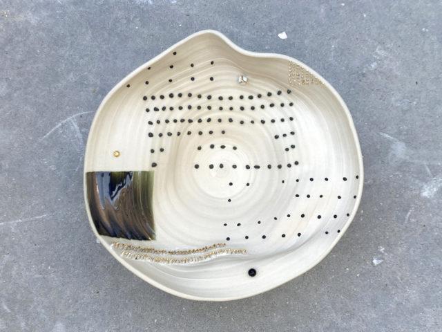 Soft obra arte conceptual contemporaneo cerámica del artista Luis Torres La Rambla inspirado en la campiña sur córdoba